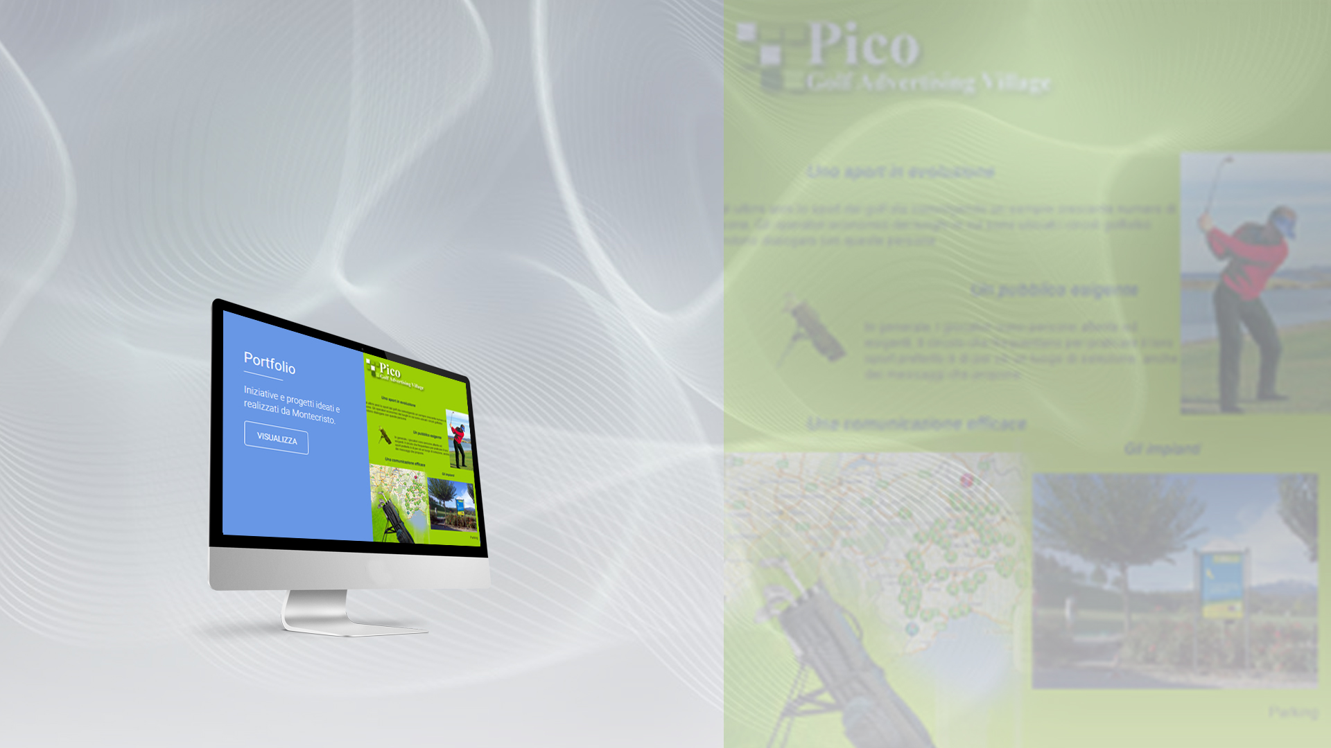 pico golf advertising village